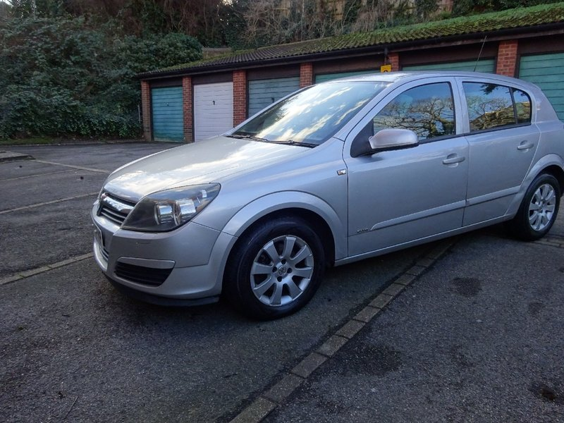View VAUXHALL ASTRA 1.6 Club